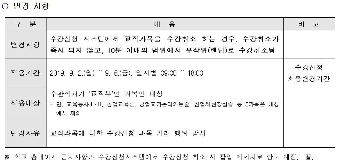 교직 수강취소 관련 변경점.png